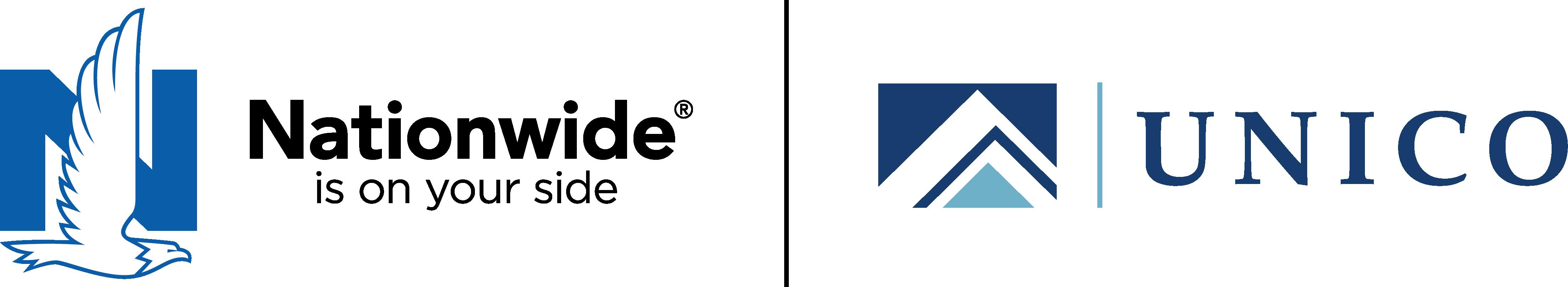UNICO Group and Nationwide logo